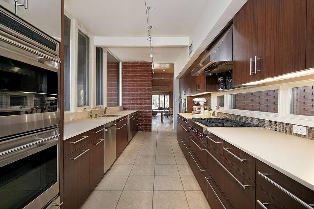 Sleek Ideas For Kitchen Design With Islands: 33 Sleek Asian Kitchen Ideas