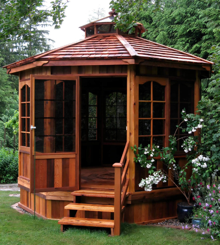 36 Spectacular Hardtop Gazebo Ideas