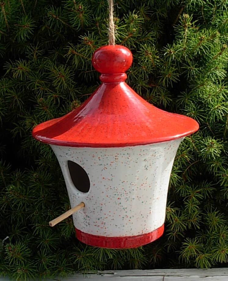 If you are fond of feathered friends you can install a birdhouse in your gazebo to attract birds. Your relaxation spot will be enhanced by the friendly chirps of your local avian community.