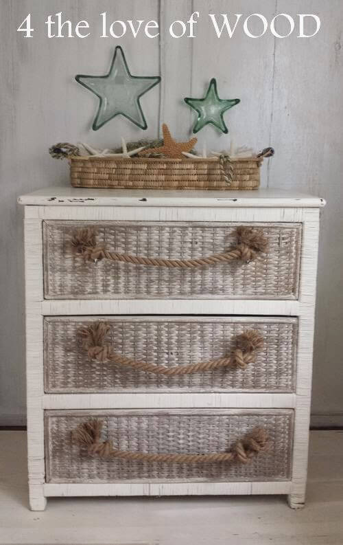 this adorable piece may be a dresser but it would look fantastic in nearly any - Diy Beach Decor