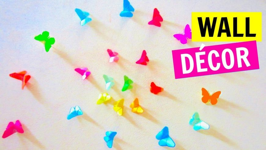 These Origami Butterflies Are Just Gorgeous! This Is A Great Craft To Make  With Older