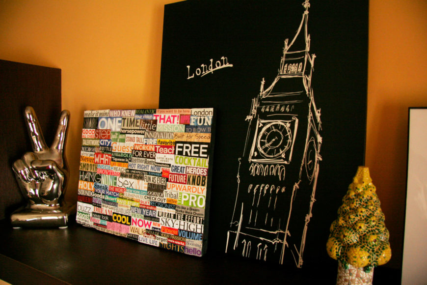diy wall decor for teens. This adorable bit of wall art is created by picking out words and phrases  96 DIY Room D cor Ideas to Liven Up Your Home