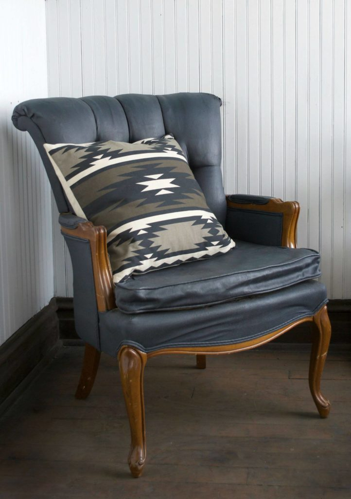 Reupholstering An Old Chair Is A Lot Of Work So Why Not Take An Easier