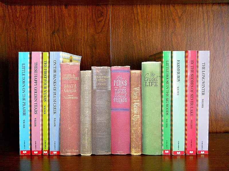 This clever DIY uses old hardcover books to create a hidden storage compartment on your bookshelves!
