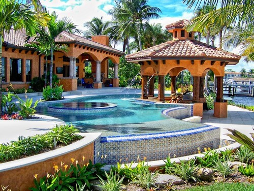34 glorious pool gazebo ideas for Quality pool design