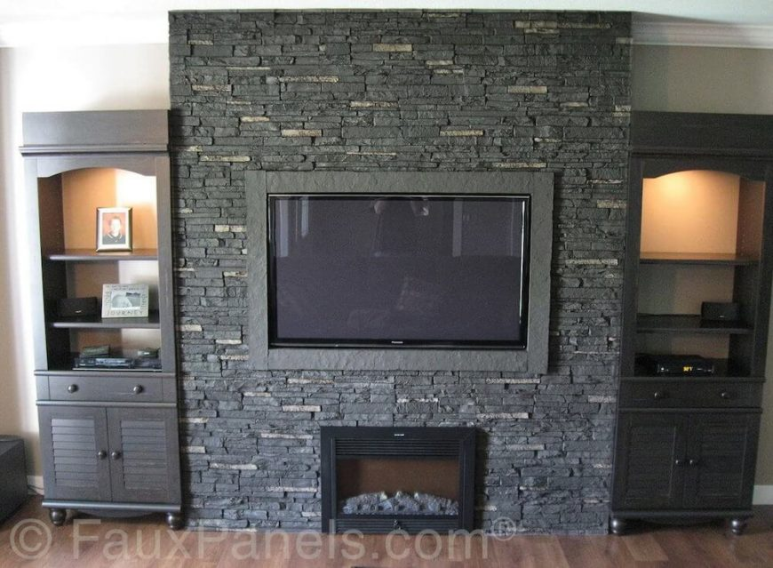 Looking to add a bit of class to a room in your home? Check out these 30 faux brick and rock panel ideas (pictures) and get inspired!