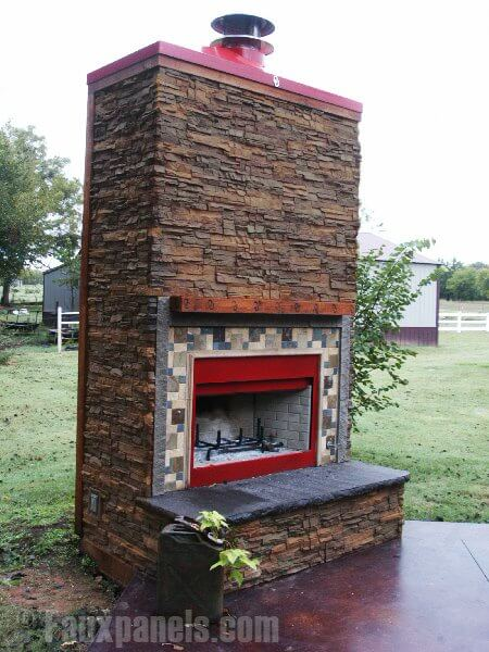 30 Faux Brick and Rock Panel Ideas (Pictures)
