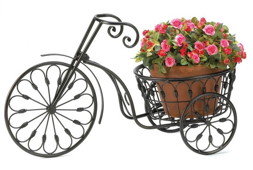 Buy bicycle flower planter on Amazon