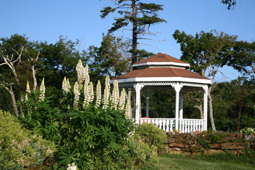 High Quality A Gazebo Can Give You A Place To Sit And Watch Over Your Garden. It
