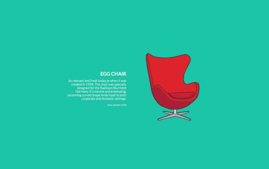 1 Egg Chair