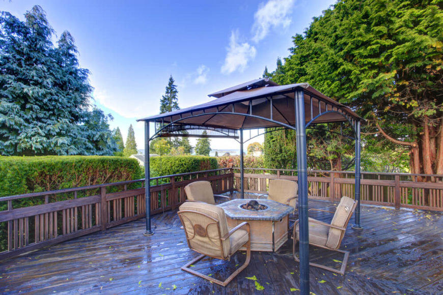 6 Patio Gazebo - Stock