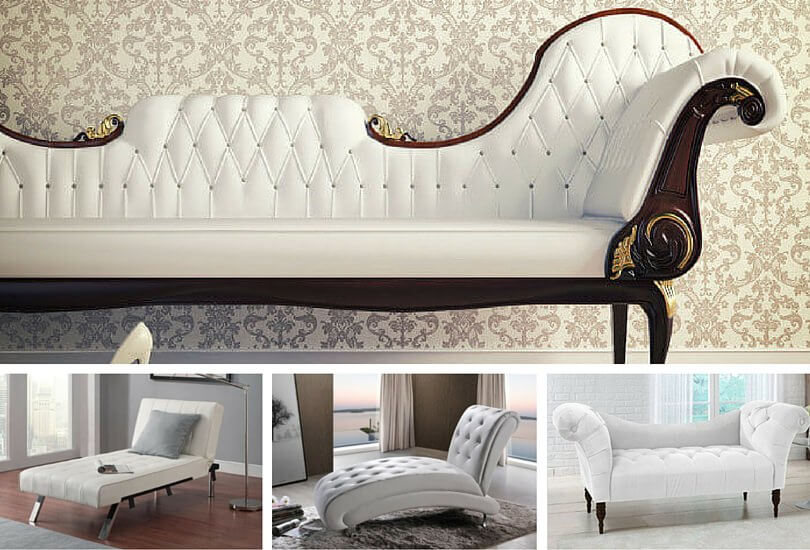 Top 10 Types of White Chaise Lounges 2016