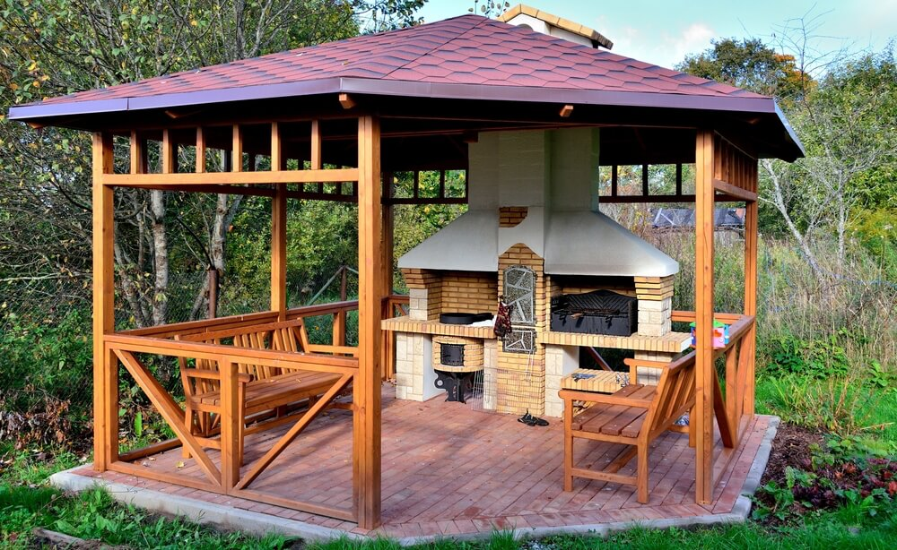 32 Wooden Gazebos That Provide Rich Design And Comfortable ...