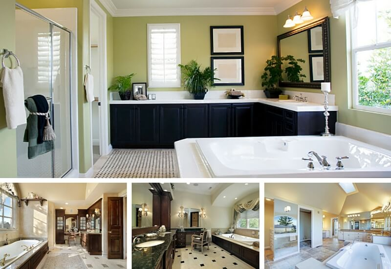 Bathrooms With LShaped Vanities - How many bathrooms are in the white house