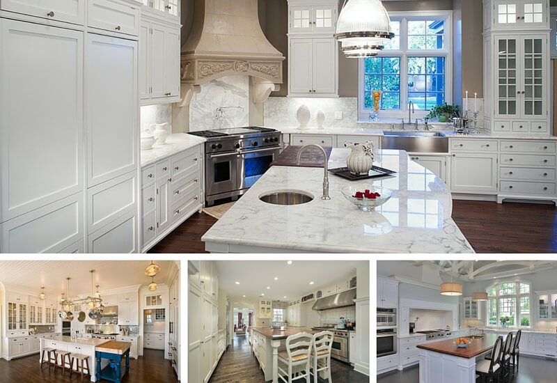 Best White Kitchen Designs Top 38 Best White Kitchen Designs 2017 Edition