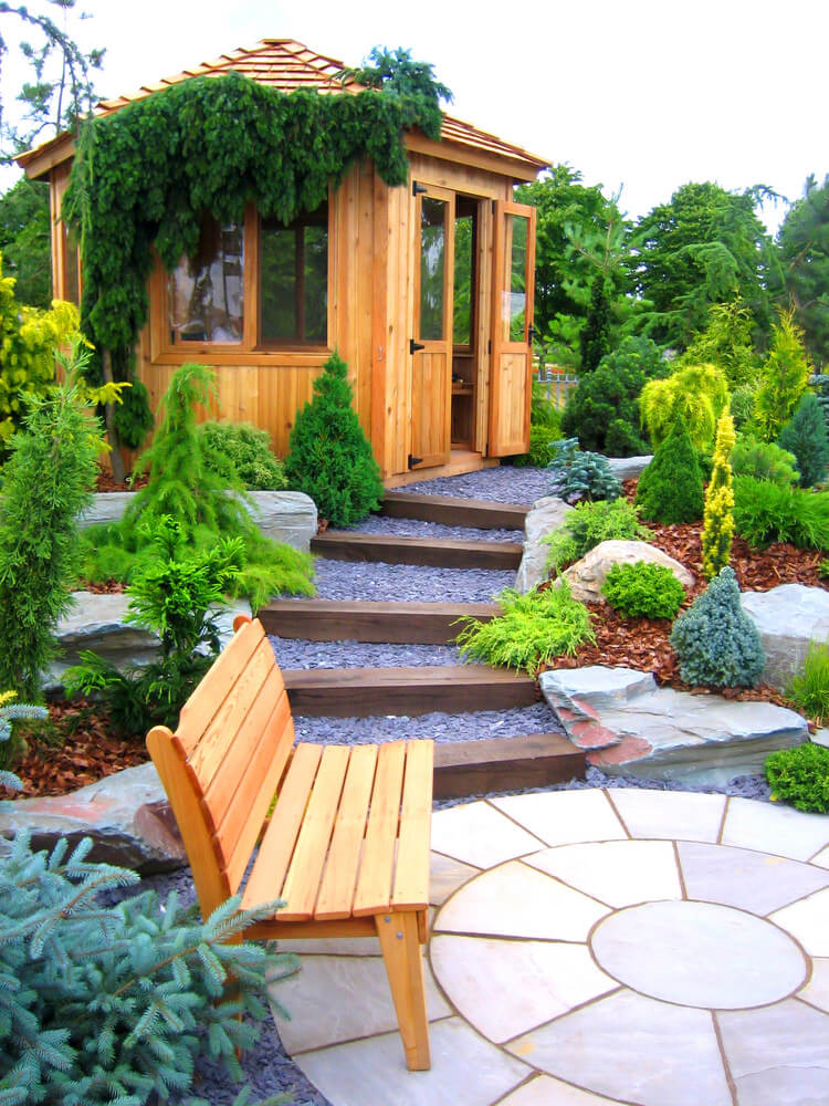 60 Outdoor Garden & Landscaping Step Ideas