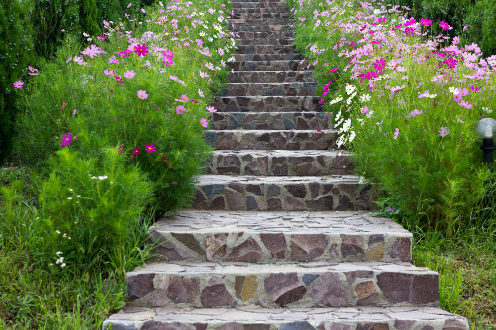 How To Build Wooden Steps In A Garden