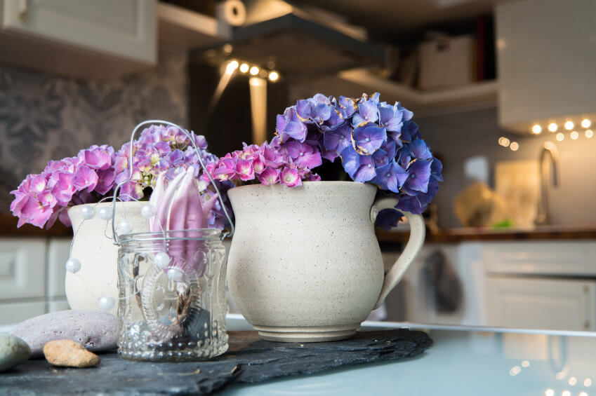 351 best images about PS花 on Pinterest | Glass vase, Vase ... |Country Hydrangeas Vase