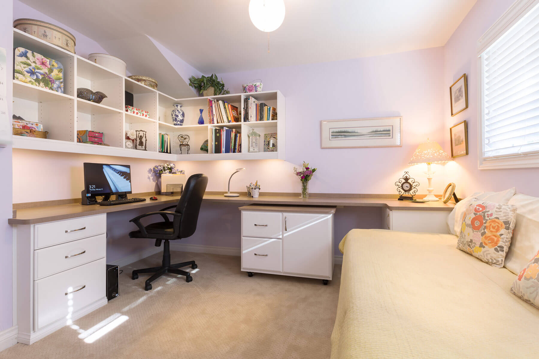 26 home office designs (desks & shelving)closet factory