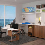 26 Magnificent Custom Home Office Designs by Closet Factory