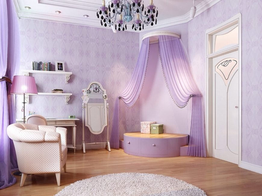 29 reading nooks for kids that will inspire imagination - Romantic living room ideas for feminine young ladies casa ...