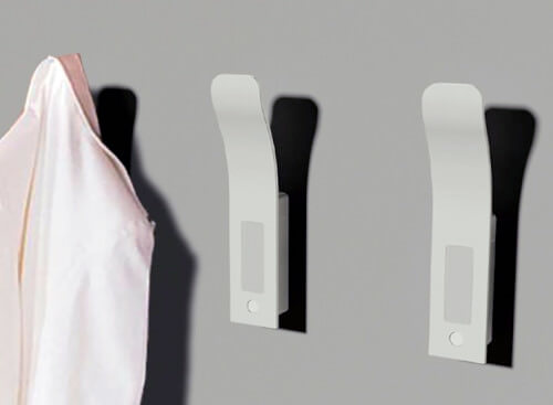 These pull hooks have light sensors that are activated in low or dim light and stays off during daylight.