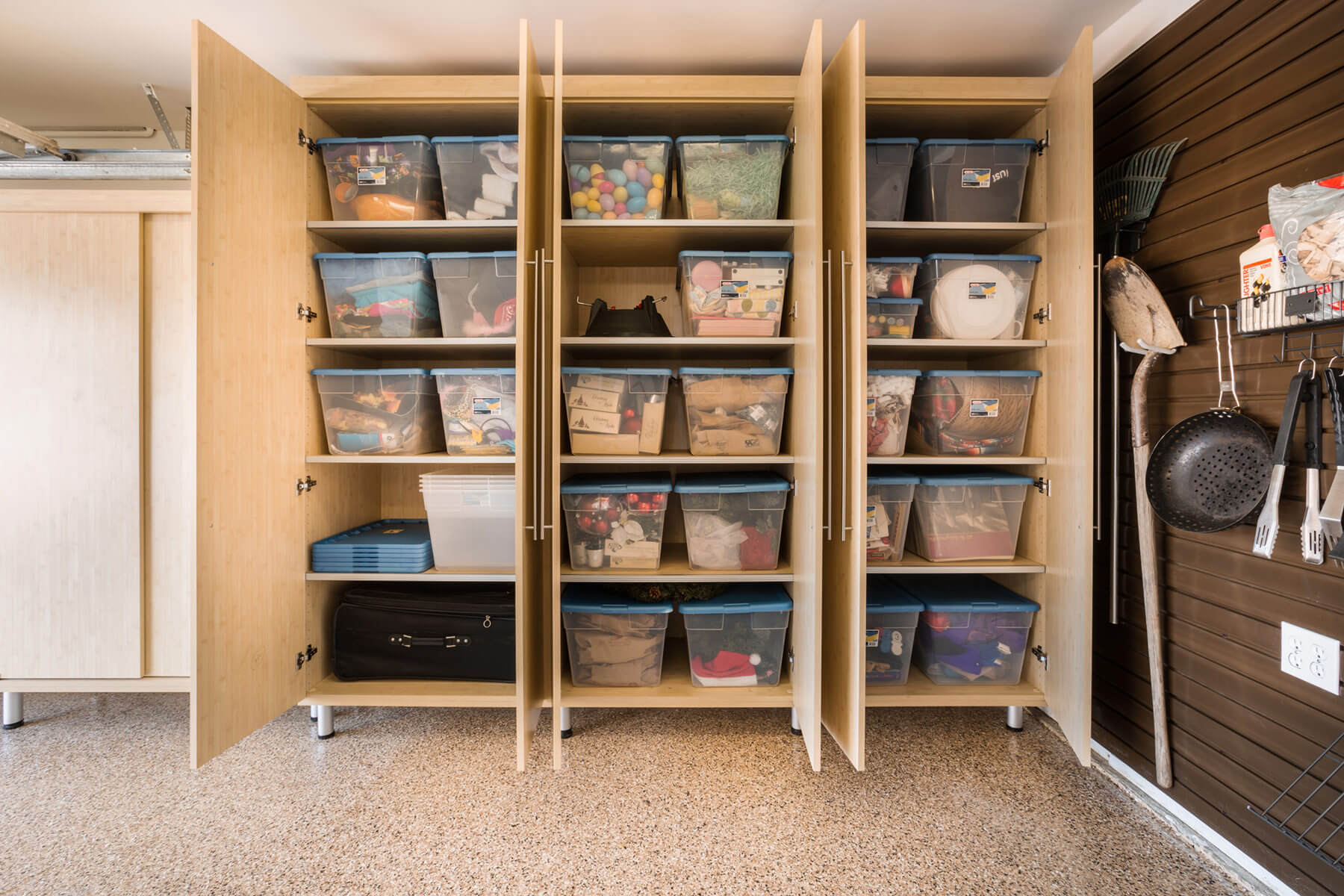 ideas for attic storage closet - 29 Garage Storage Ideas Plus 3 Garage Man Caves
