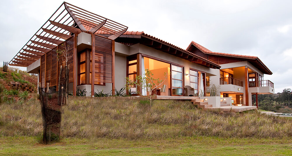 Japanese Styled Open Plan Modern Home
