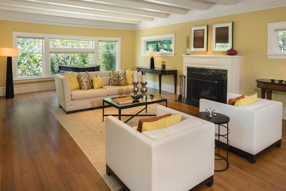 Make Your Living Room Calming And Inviting By Using Lighter Shades Of Brown  Or Even Yellow Save · Color Palette ...