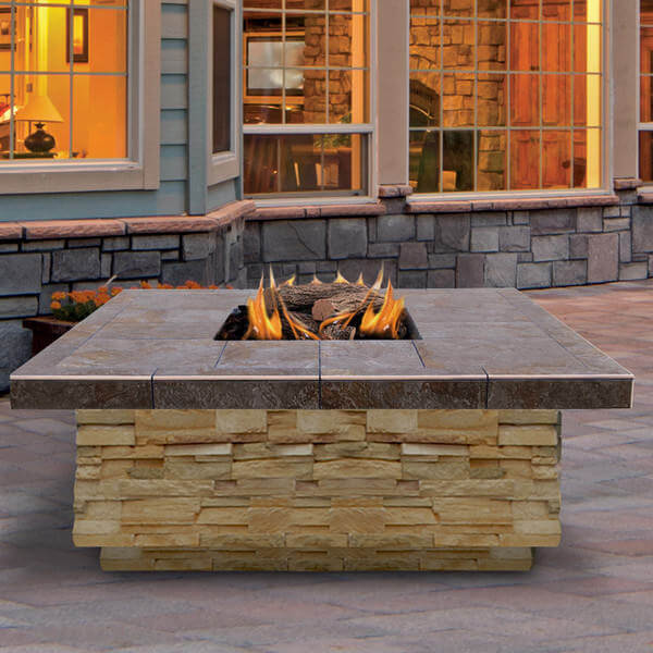 Enjoy The Ambiance Brought By This Fire Pit That Can Generate 55,000 BTU  And Help You