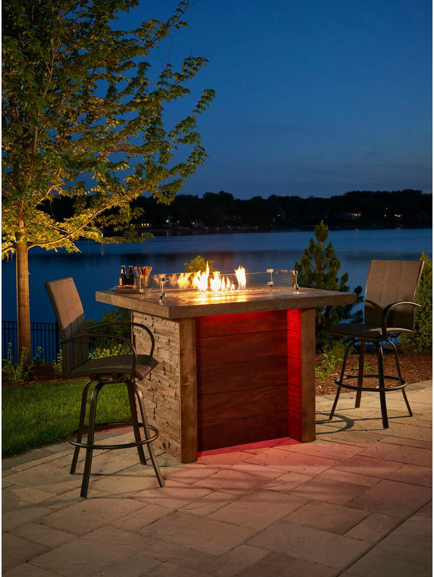 Want A Romantic Fire Pit In Your Back Yard? Why Not Try Out This Tall
