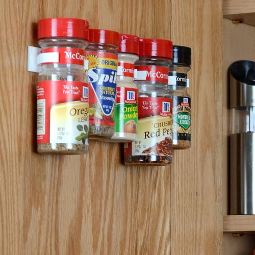 Cabinet-Door Spice Organizer