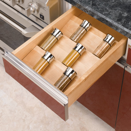 Wood Spice Drawer