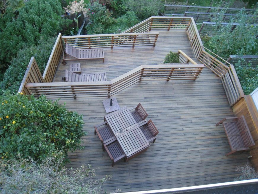 27 Extensive Multi-Level Decks for Entertaining Large Parties on Tiered Patio Ideas id=80794