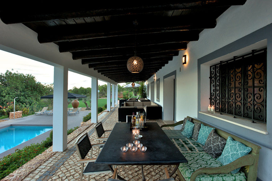 7 multi-level deck - StudioArte QuintaValedeVila Patio2