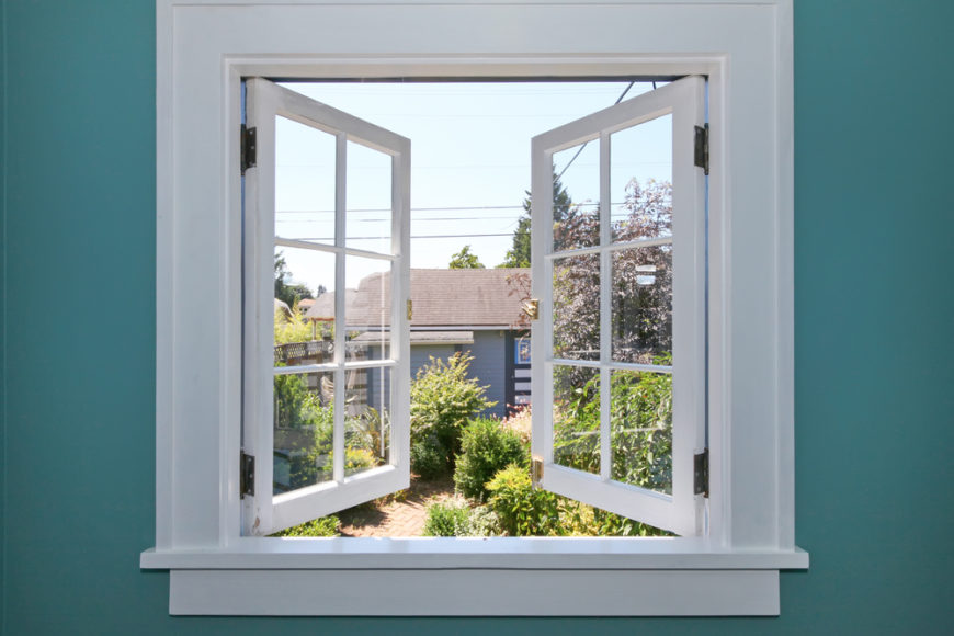 Fresh air is perhaps the original good vibration. Opening your windows will let a nice breeze flow through the home, opening minds and breathing passageways alike. It's a simple and free solution that anyone can do, any time.