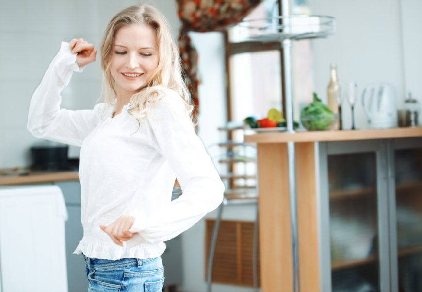 When you're at home alone or with loved ones, dancing is one of the very best activities you can do. It releases positive energies and keeps your body in shape, all while being incredibly fun. Regular dancing in your home will help maintain that particularly soothing atmosphere.