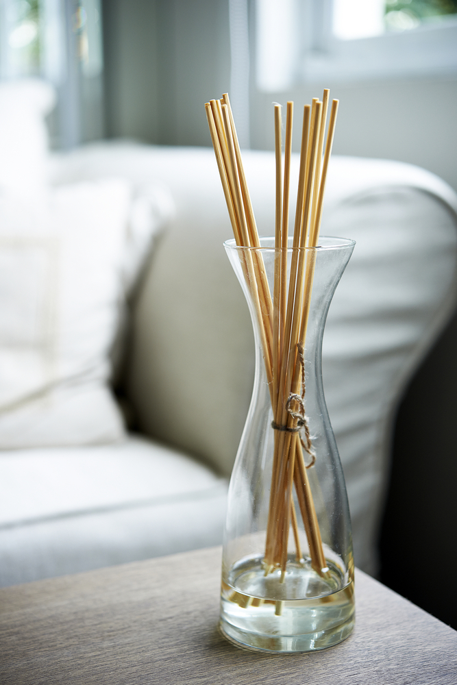 Just like candles and incense, diffusing essential oils is a great way to cleanse the air in your home and promote positive energies. Oil diffusers can be found in any home decorating store and come in a variety of smells to suit your tastes.