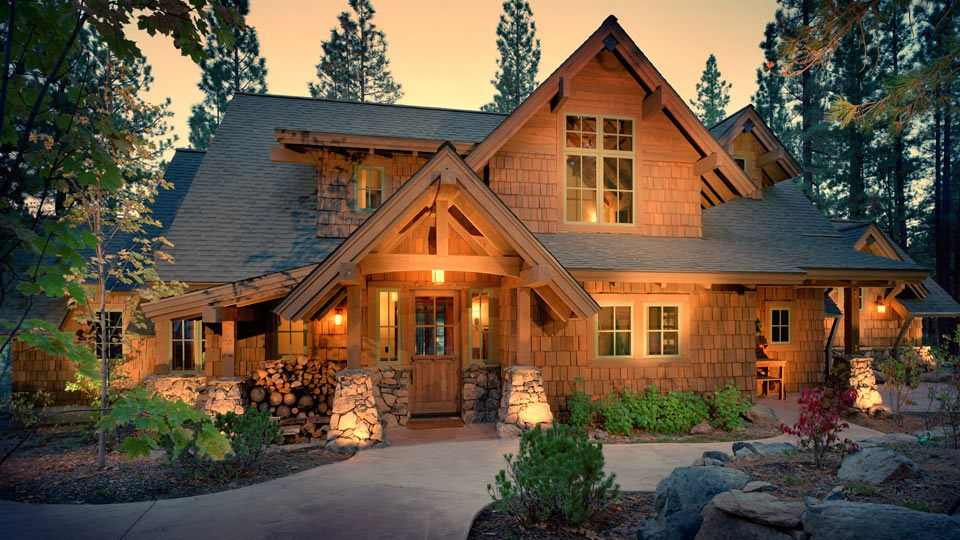19 shingle style homes diverse photo collection for Custom mountain homes