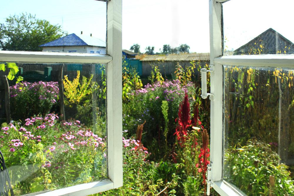 Open windows for fresh air