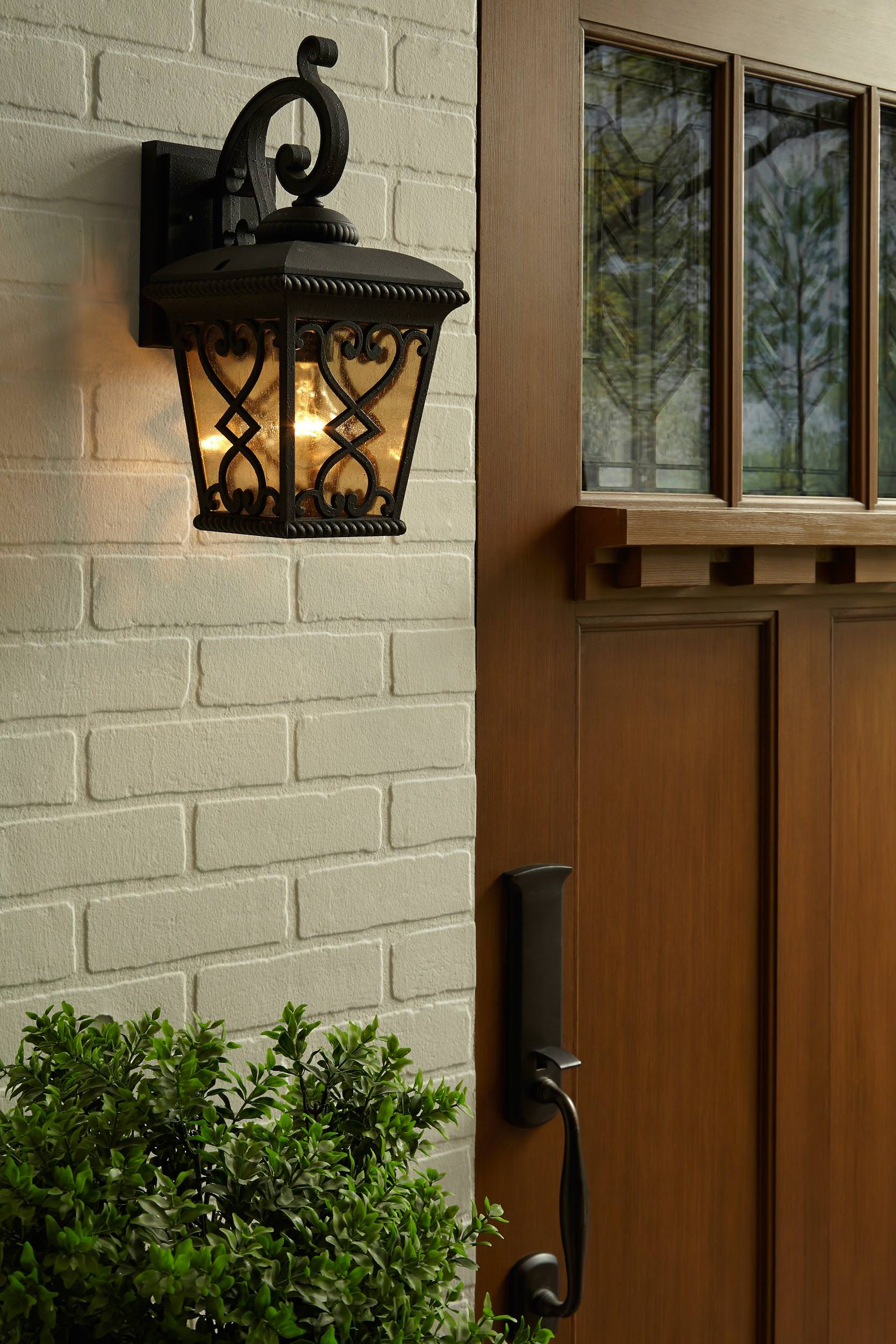 Light From A Door : Types of outdoor lights for your home
