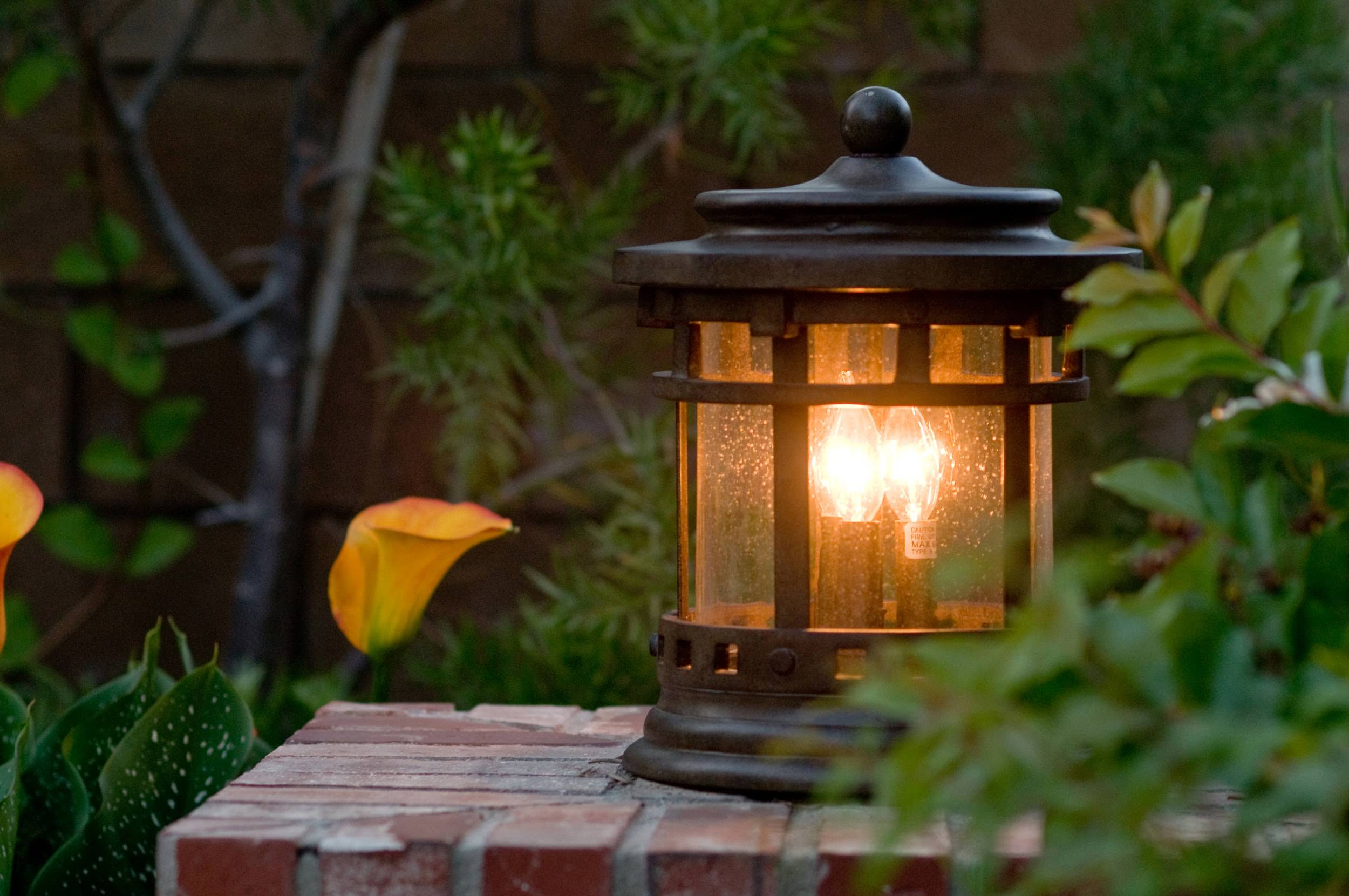 15 different outdoor lighting ideas for your home all types lighting post lantern for outside aloadofball Image collections