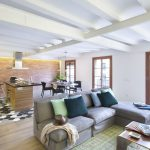 Open Concept Contemporary Industrial Apartment Design by egue & seta