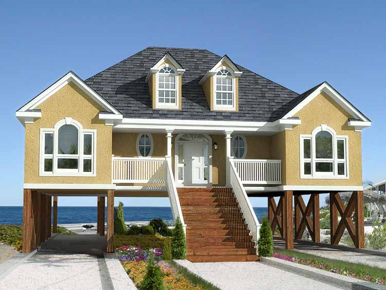 beach home architecture - Housing Design Styles