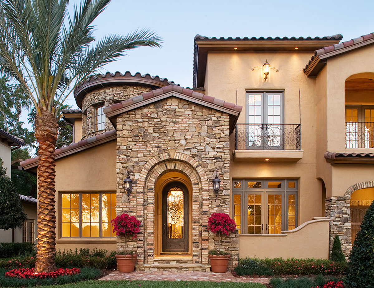 32 types of architectural styles for the home modern for Pictures of mediterranean homes