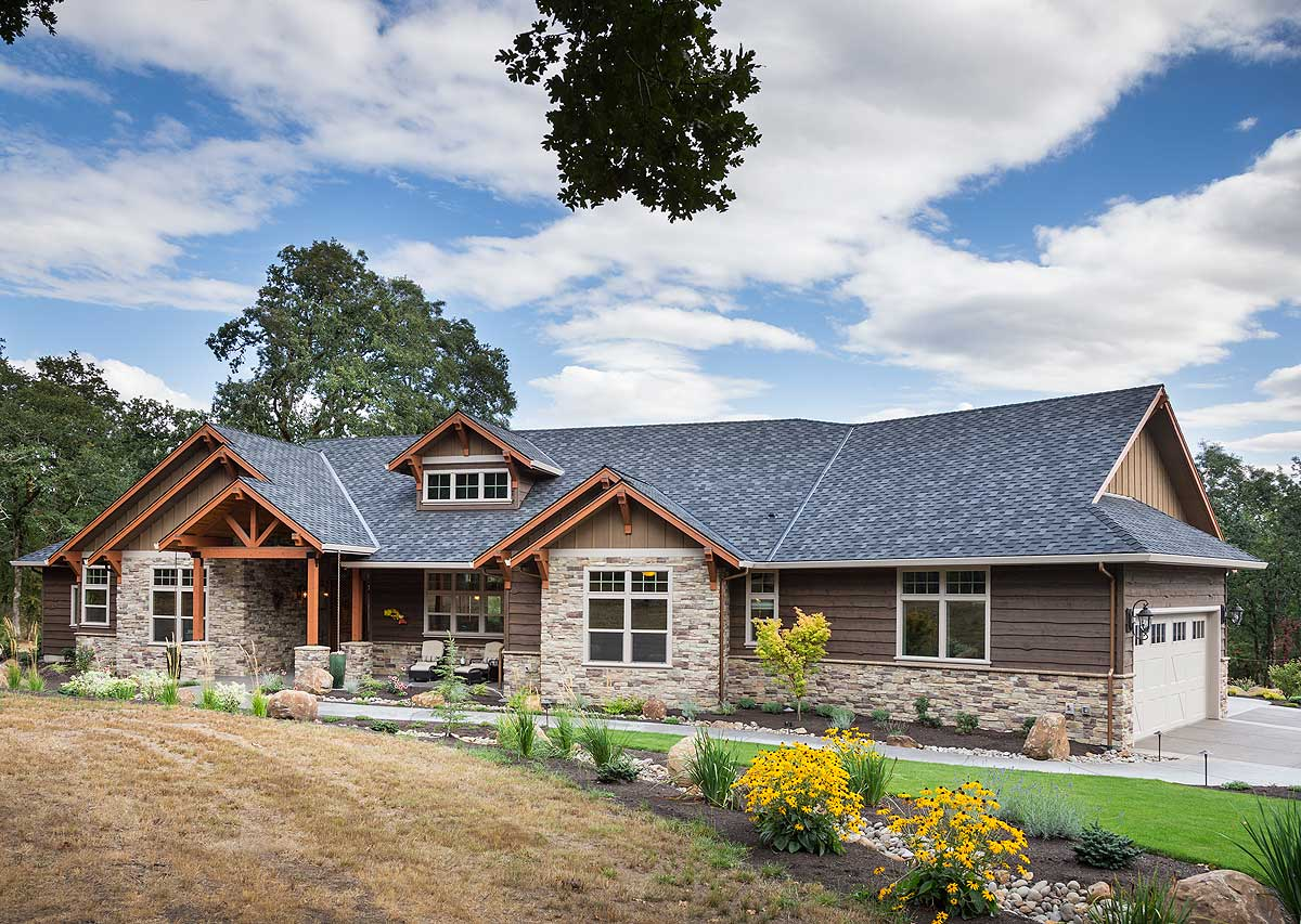 Ranch home architecture
