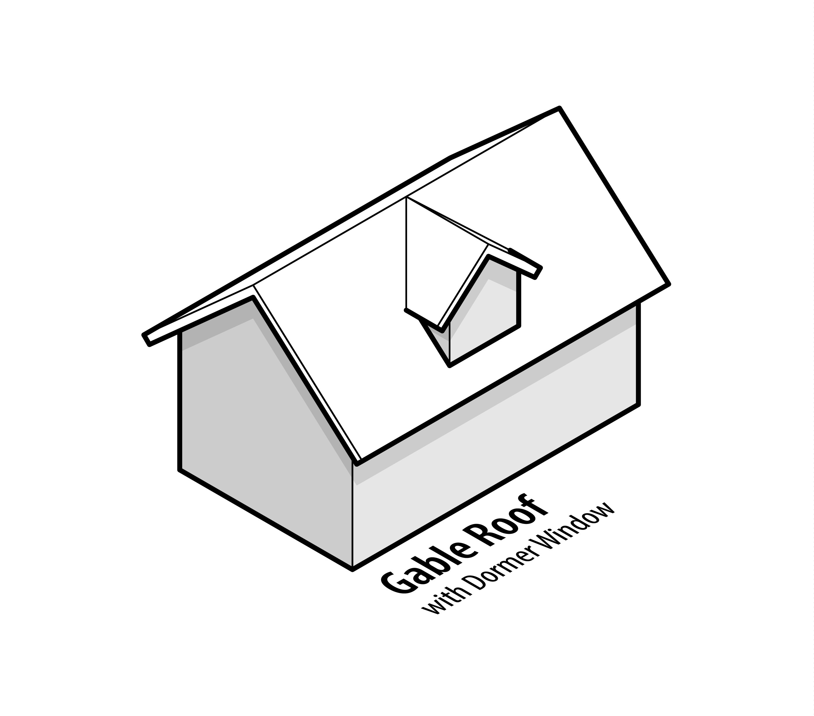 Picture Of A Gable Roof: 15 Types Of Roofs For Houses (with Illustrations
