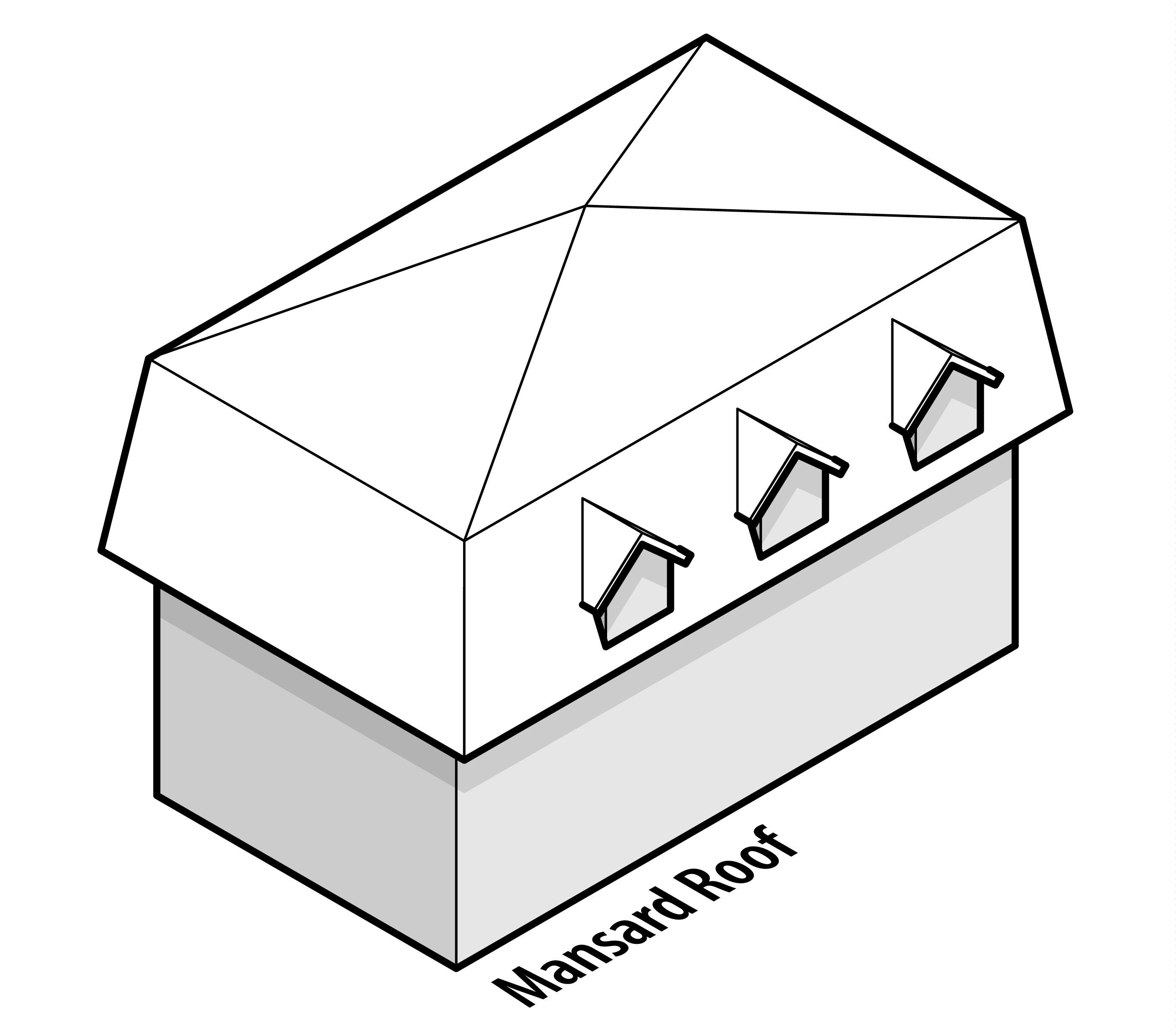 Pyramid Mansard Roof