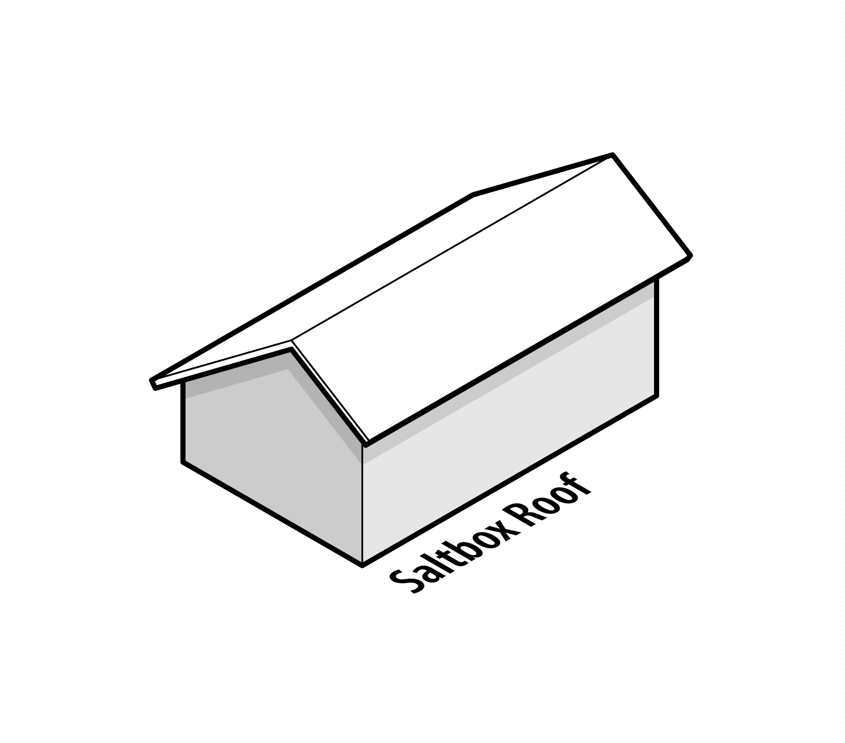 Saltbox Roof Design