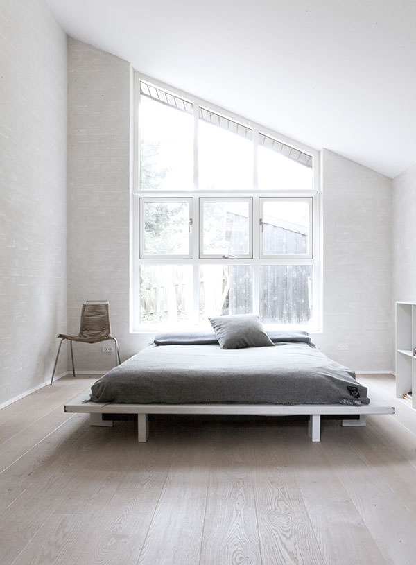 Minimalist Bedroom Design Scandinavian The above bedroom